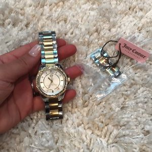 JUICY COUTure worn once watch gold
